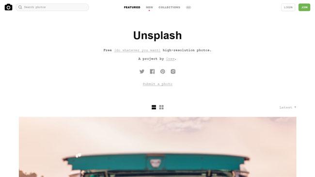 Unsplash
