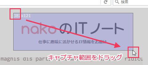 Screenshoter Fixedの操作画面