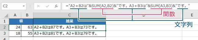 Excelの操作画面